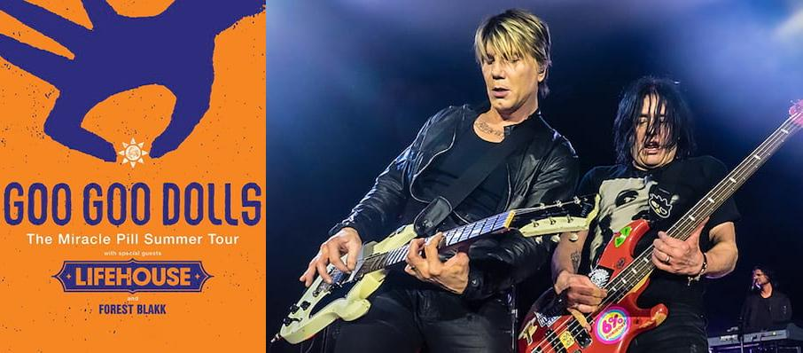 The Goo Goo Dolls at Darien Lake Performing Arts Center