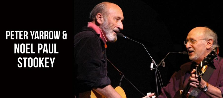 Peter Yarrow & Noel Paul Stookey at University At Buffalo Center For The Arts