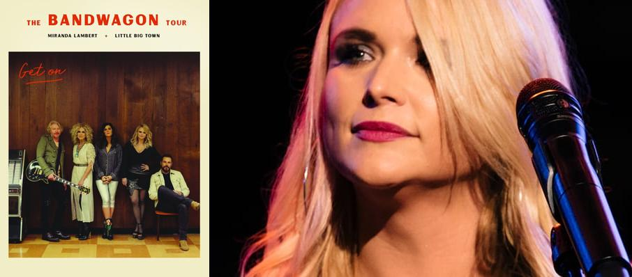 Miranda Lambert with Little Big Town at Darien Lake Performing Arts Center
