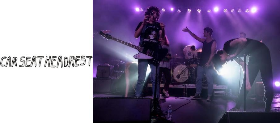 Car Seat Headrest at Asbury Hall