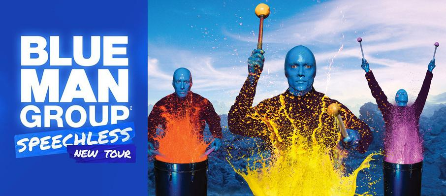 Blue Man Group at Shea's Buffalo Theatre