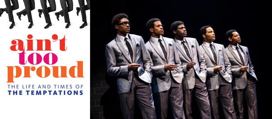 Ain't Too Proud - The Life and Times of the Temptations at Shea's Buffalo Theatre