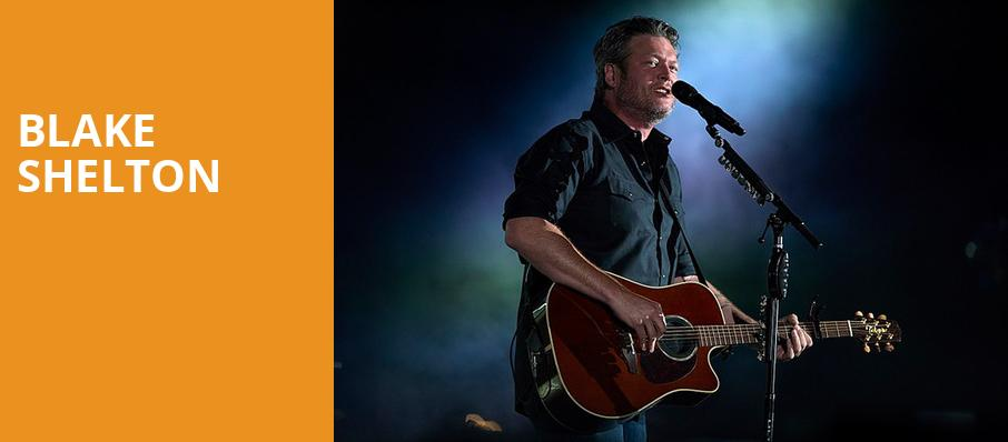 Blake Shelton, First Niagara Center, Buffalo