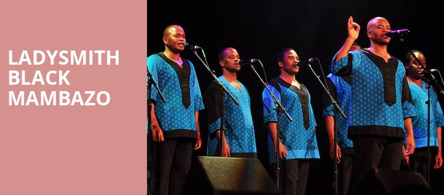 Ladysmith Black Mambazo, Asbury Hall, Buffalo