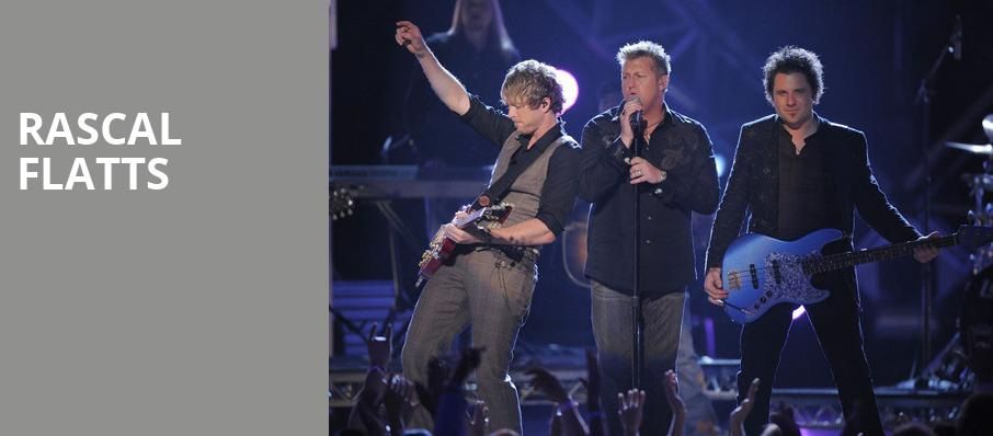Rascal Flatts, Darien Lake Performing Arts Center, Buffalo