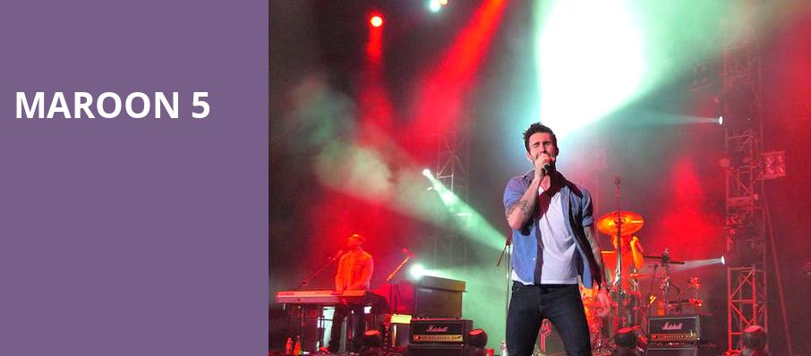 Maroon 5, Darien Lake Performing Arts Center, Buffalo