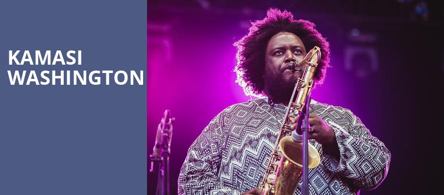 Kamasi Washington, Asbury Hall, Buffalo