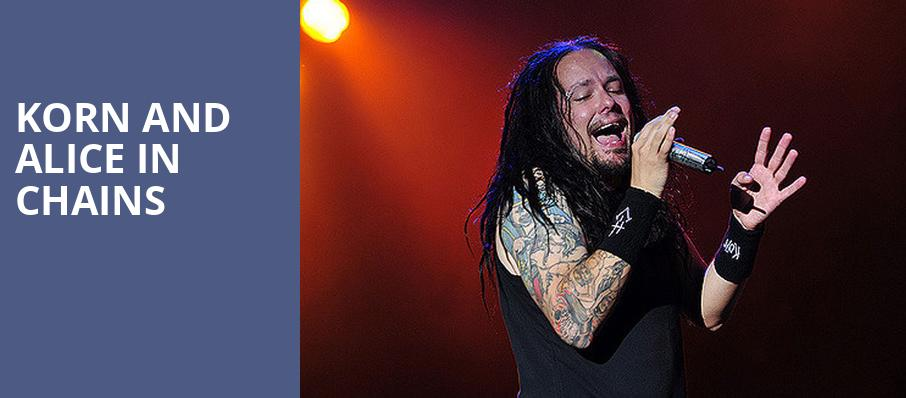 Korn and Alice in Chains, Darien Lake Performing Arts Center, Buffalo