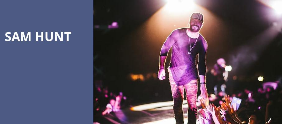 Sam Hunt, Darien Lake Performing Arts Center, Buffalo