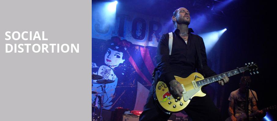 Social Distortion, Town Ballroom, Buffalo