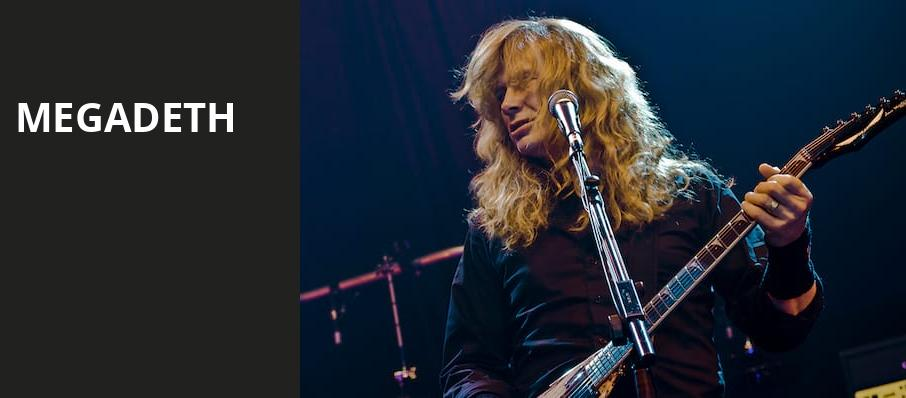 Megadeth, Darien Lake Performing Arts Center, Buffalo